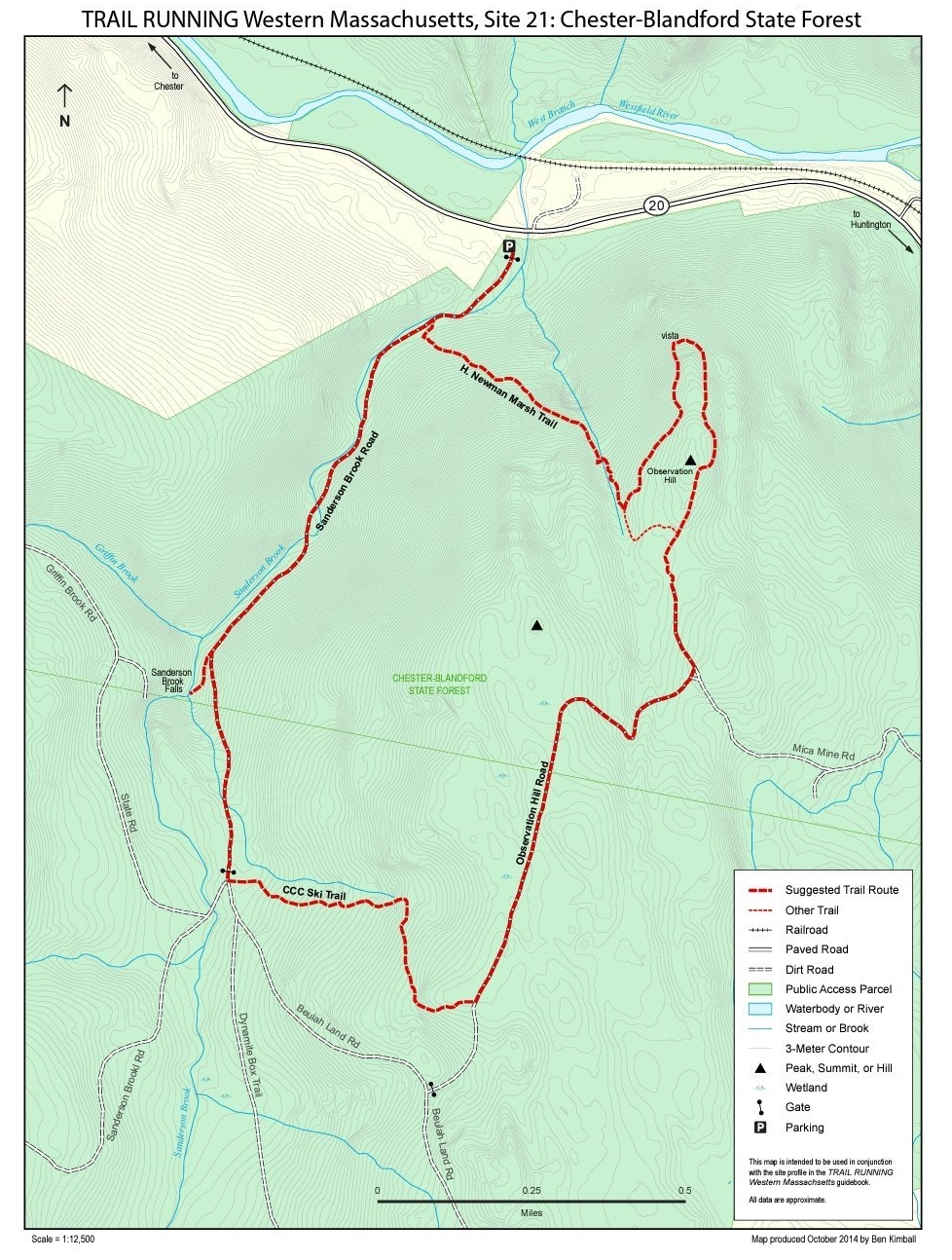 All Trail Maps | Western M Hilltown Hikers on